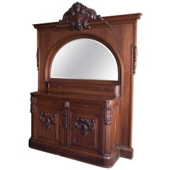 Big Neo Renaissance Mirror Buffet, Late 19th Century