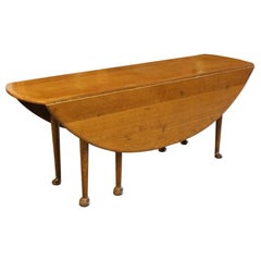 Big Oak Oval Dining Table