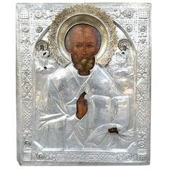 Big Russian Icon 19th Century