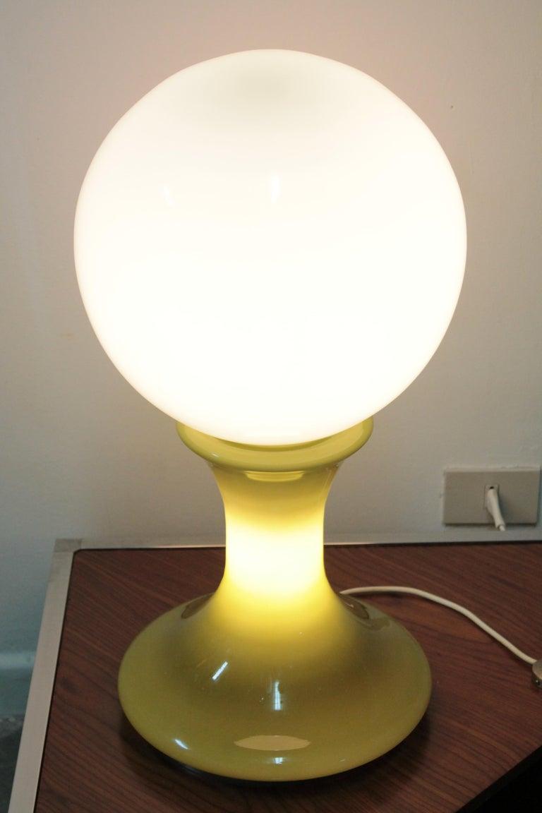 Big Table Lamp 1970s Mazzega, Design Carlo Nason For Sale 1