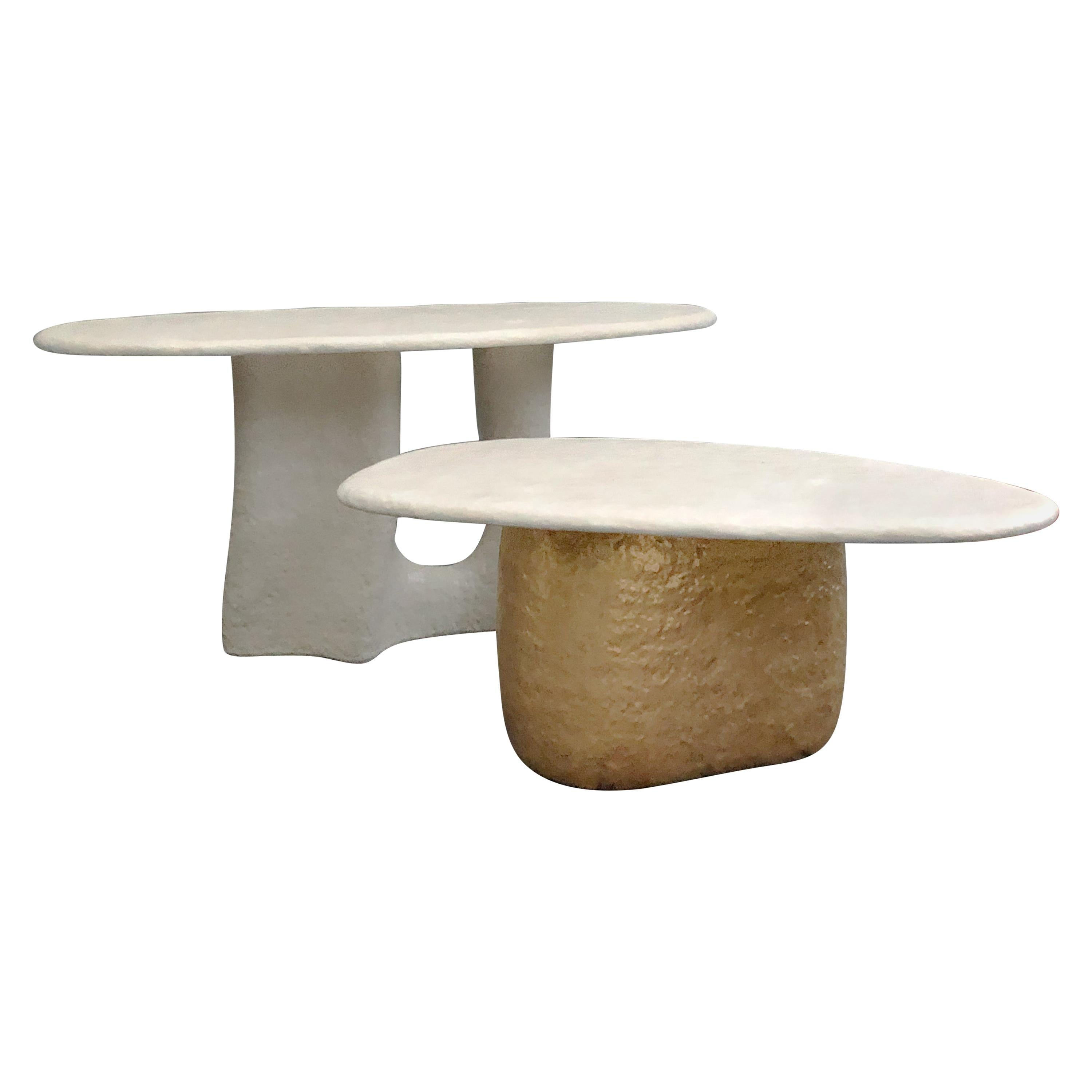 Big Table 'Large' Contemporary Table in Ceramic by MYK Studio