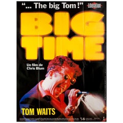 Big Time 1988 French Grande Film Poster