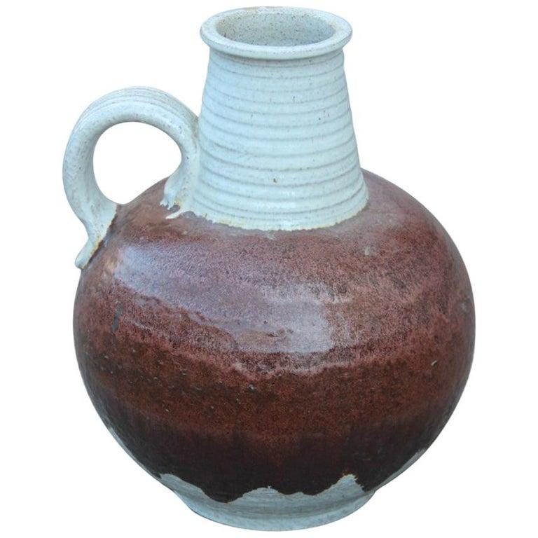 Big Vase Venturina Stones Mid-Century Modern Design Bitossi Ceramic, 1960 For Sale