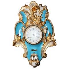 Big Vieux Paris Wall Clock