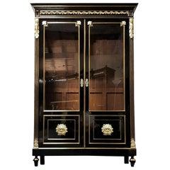"Big Vitrine Bookcase ""the Strength of Hercules' Napoleon III, France, 1870"