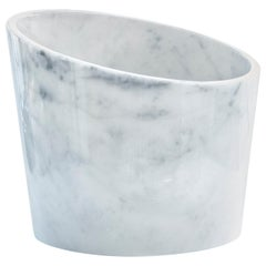 Big White Marble Glacette