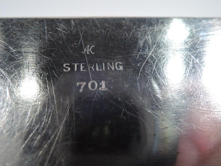 Bigelow, Kennard American Art Deco Sterling Silver Jewelry Box 5