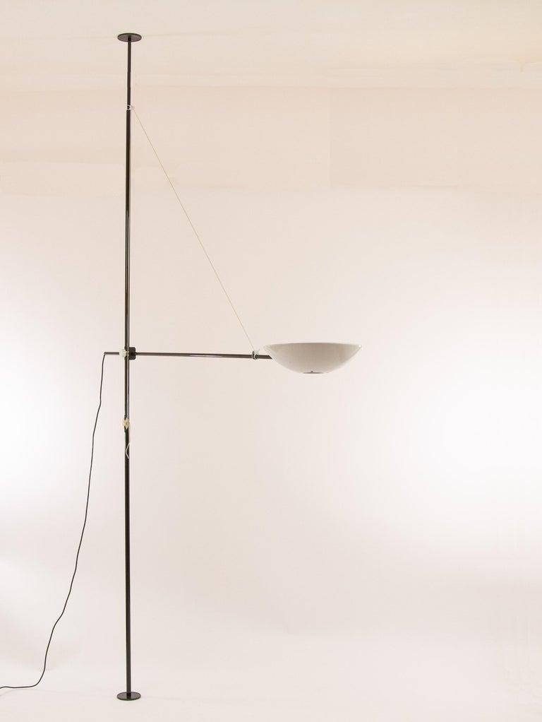 Italian Bigo Floor to Ceiling Lamp by S.T. Valenti for Valenti, 1981 For Sale