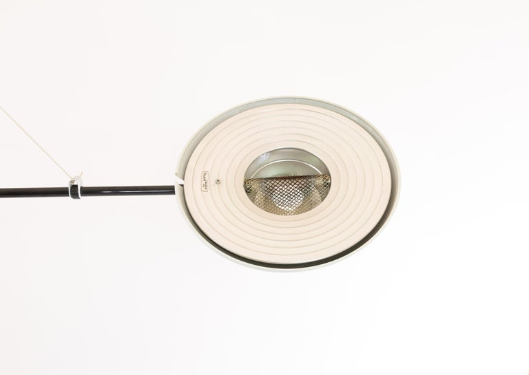 Late 20th Century Bigo Floor to Ceiling Lamp by S.T. Valenti for Valenti, 1981 For Sale