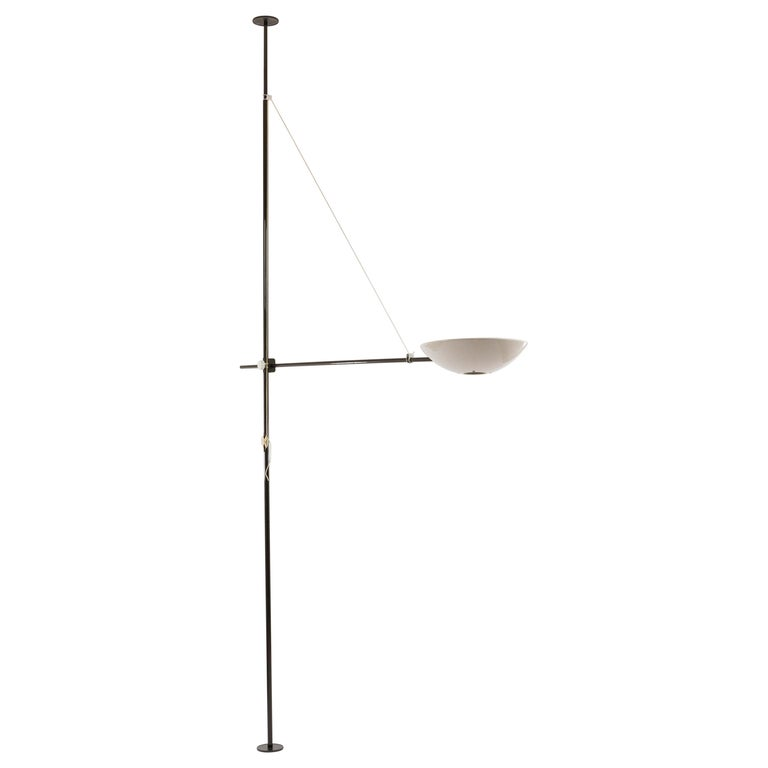 Bigo Floor to Ceiling Lamp by S.T. Valenti for Valenti, 1981 For Sale
