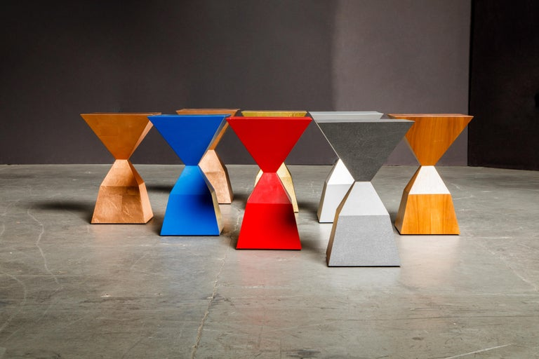 'Bijou' Occasional Tables Prototype Set by Stewart MacDougall, Signed For Sale 5
