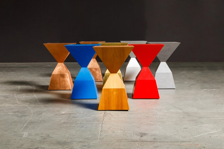 'Bijou' Occasional Tables Prototype Set by Stewart MacDougall, Signed For Sale 7