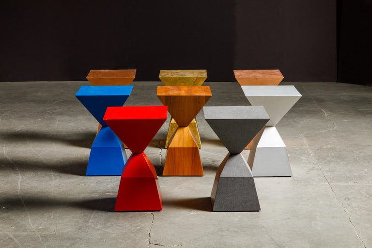 'Bijou' Occasional Tables Prototype Set by Stewart MacDougall, Signed For Sale 8