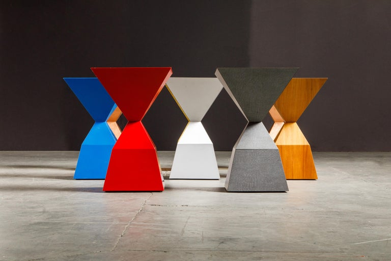 'Bijou' Occasional Tables Prototype Set by Stewart MacDougall, Signed For Sale 9
