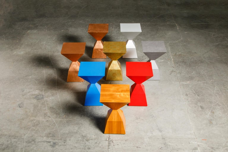 'Bijou' Occasional Tables Prototype Set by Stewart MacDougall, Signed For Sale 10