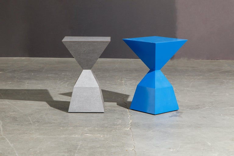 'Bijou' Occasional Tables Prototype Set by Stewart MacDougall, Signed For Sale 12