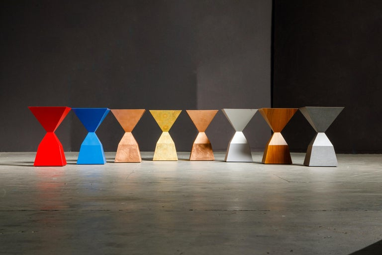 Post-Modern 'Bijou' Occasional Tables Prototype Set by Stewart MacDougall, Signed For Sale