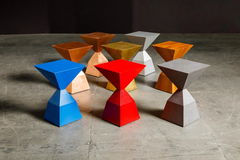 American 'Bijou' Occasional Tables Prototype Set by Stewart MacDougall, Signed For Sale