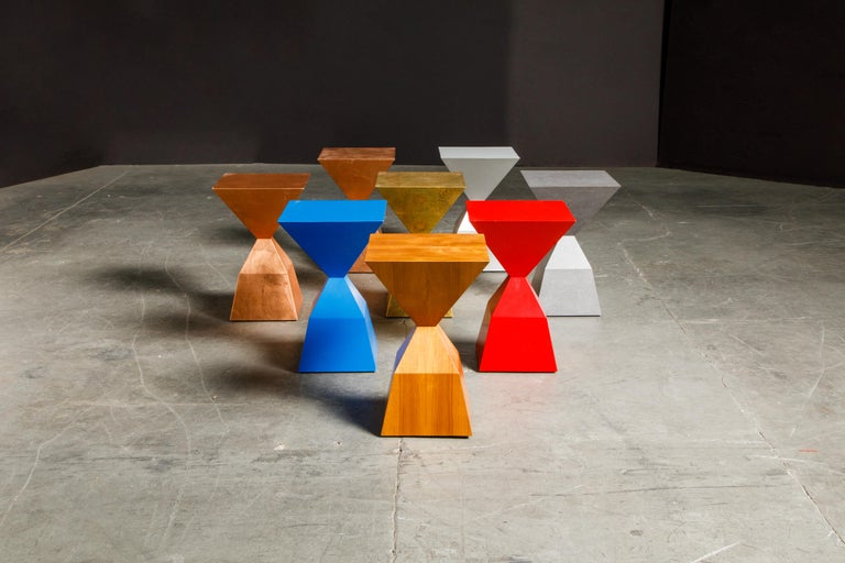 Late 20th Century 'Bijou' Occasional Tables Prototype Set by Stewart MacDougall, Signed For Sale