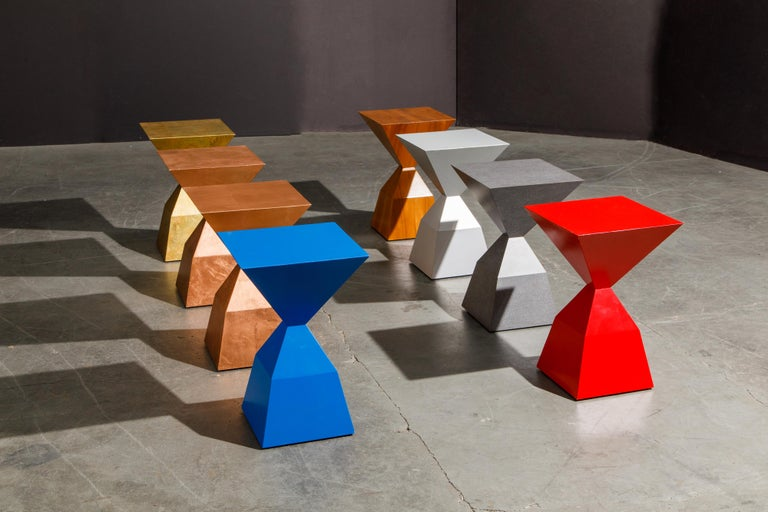 'Bijou' Occasional Tables Prototype Set by Stewart MacDougall, Signed For Sale 1