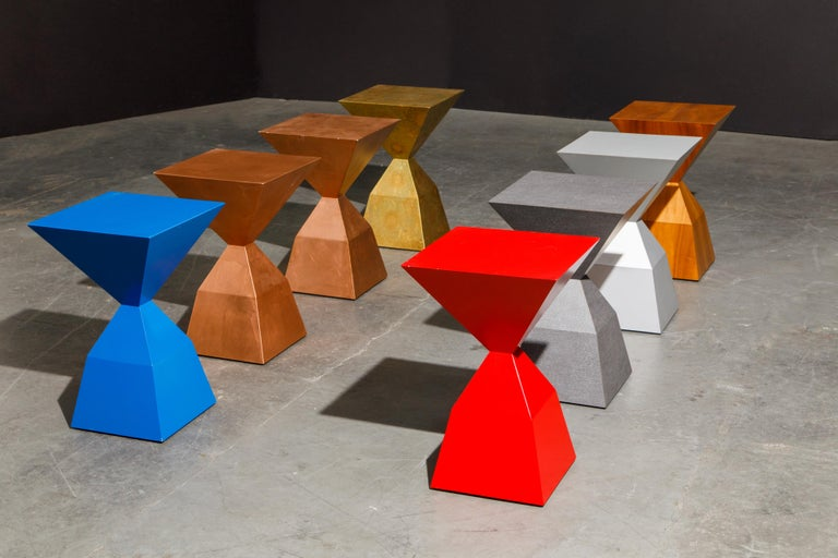 'Bijou' Occasional Tables Prototype Set by Stewart MacDougall, Signed For Sale 2