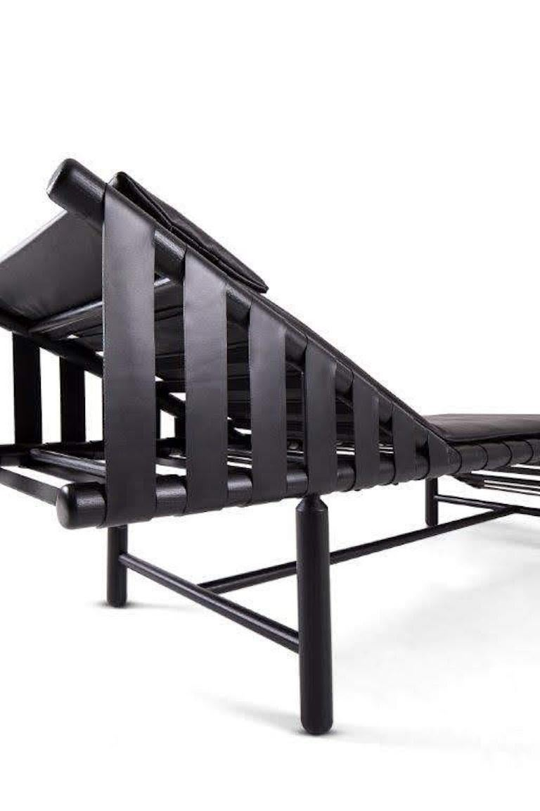 Bikini Daybed with Black Dyed Ashwood Frame by Busnelli 3