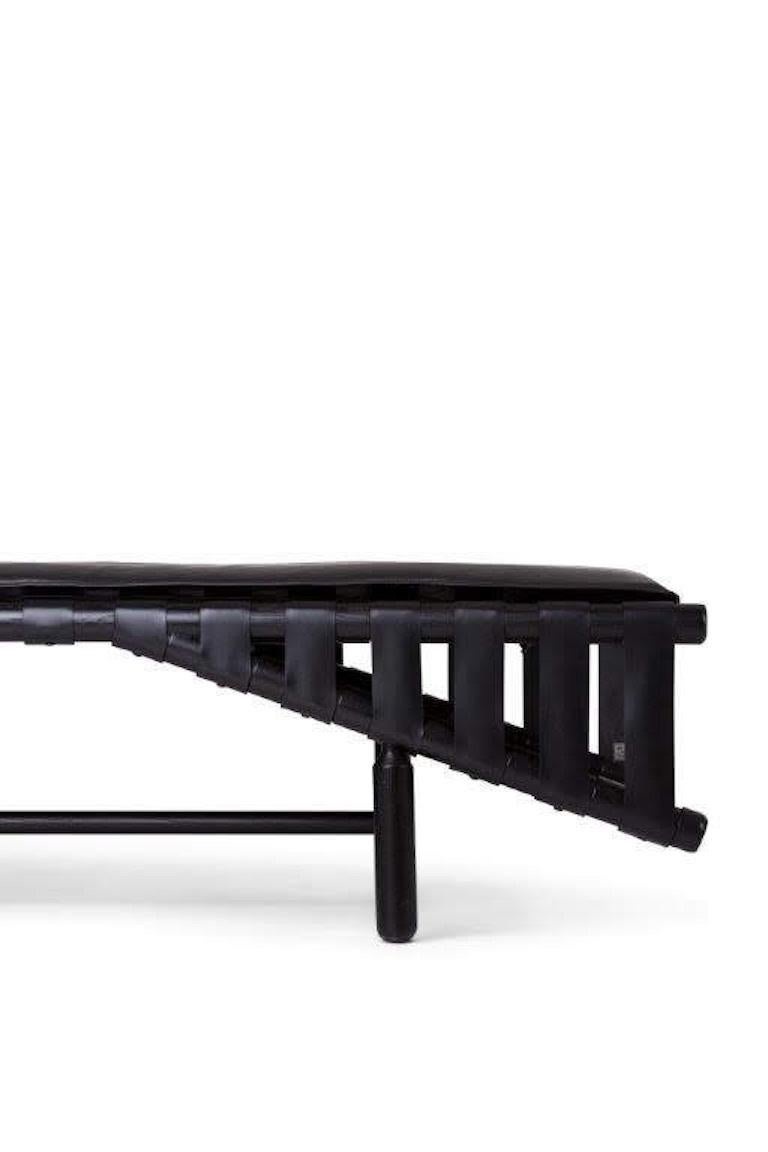Bikini Daybed with Black Dyed Ashwood Frame by Busnelli 4