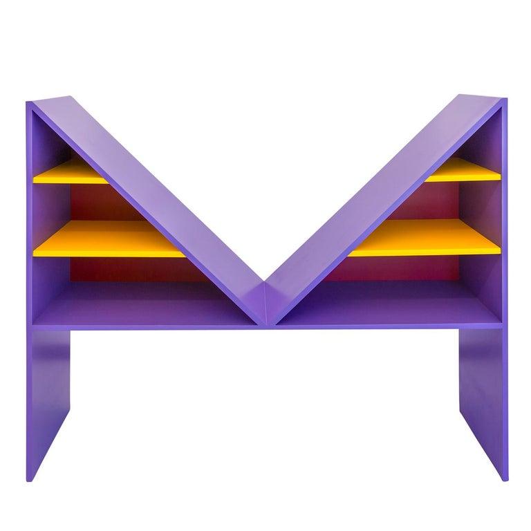 Italian Bikini Violet Bookcase
