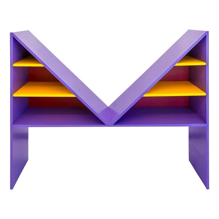 Bikini Violet Bookcase