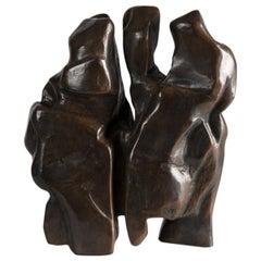Bikote III, Bronze Sculpture by Zigor 'Kepa Akixo', Pays Basque, 1996