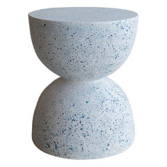 'Bilbouquet' Side Table, Moonstone Terrazzo Finish by Zachary A. Design
