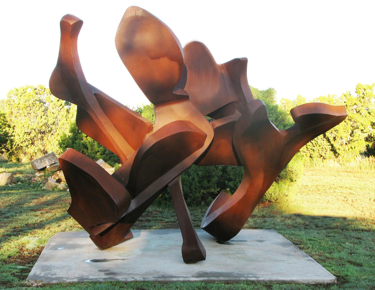 """""""Bouquet"""", Abstract, Steel Metal Sculpture by Bill Barrett"""
