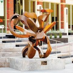 """""""DNA IV"""", Abstract, Bronze Metal Sculpture by Bill Barrett"""