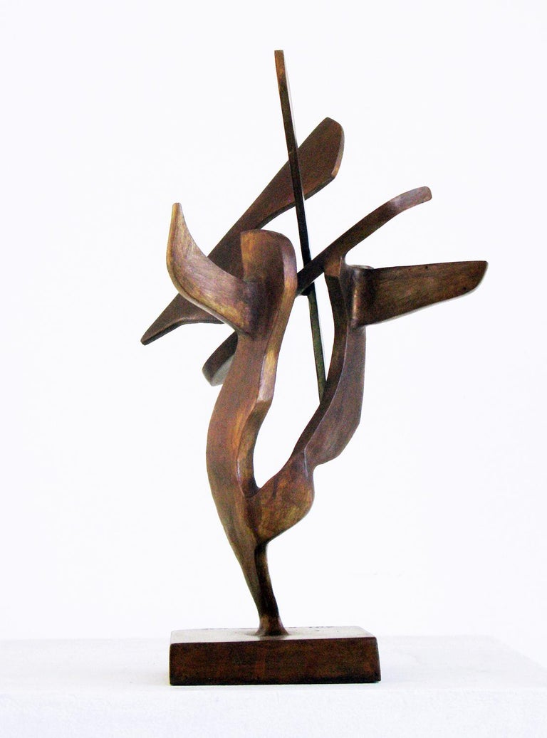 """""""Tree Series 16"""" by Bill Barrett Cast bronze  Bill Barrett is considered a central figure in the second generation of American metal sculptors and is internationally known for his abstract sculptures in steel, aluminum and bronze.  Bronze, Patina,"""