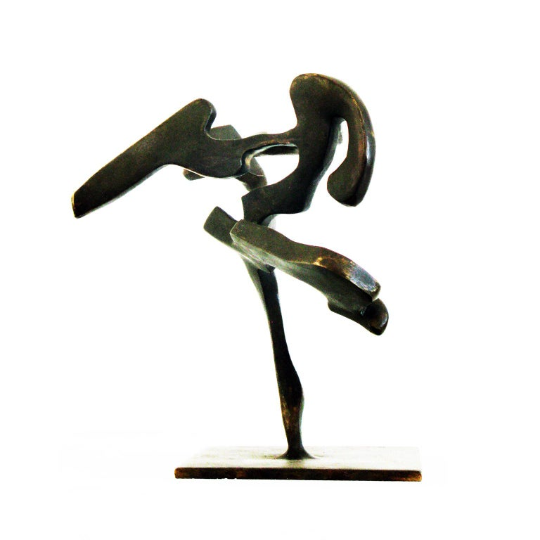 """""""Tree Series 6: Flamenco"""" by Bill Barrett Cast bronze  Bill Barrett is considered a central figure in the second generation of American metal sculptors and is internationally known for his abstract sculptures in steel, aluminum and bronze.  Bronze,"""
