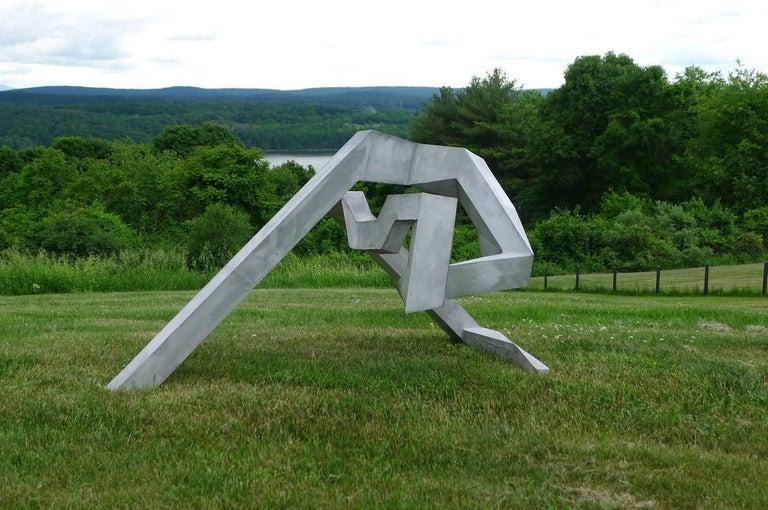Untitled, 1973 - Minimalist Sculpture by Bill Barrett