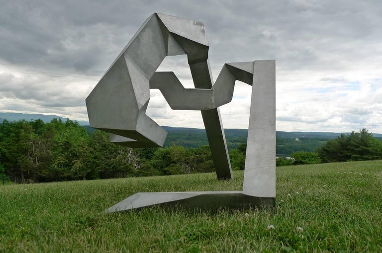 Bill Barrett Abstract Sculpture - Untitled, 1973