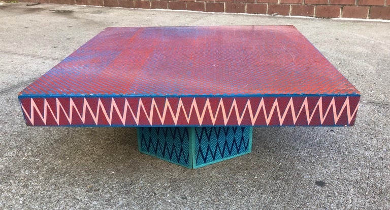Bill Bell Low Table In Good Condition For Sale In Hudson, NY