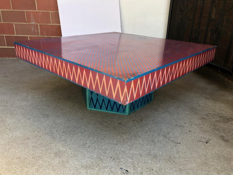 Mid-20th Century Bill Bell Low Table For Sale