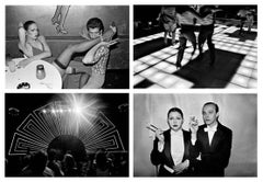 Disco, Bill Bernstein Set of Four Photographs