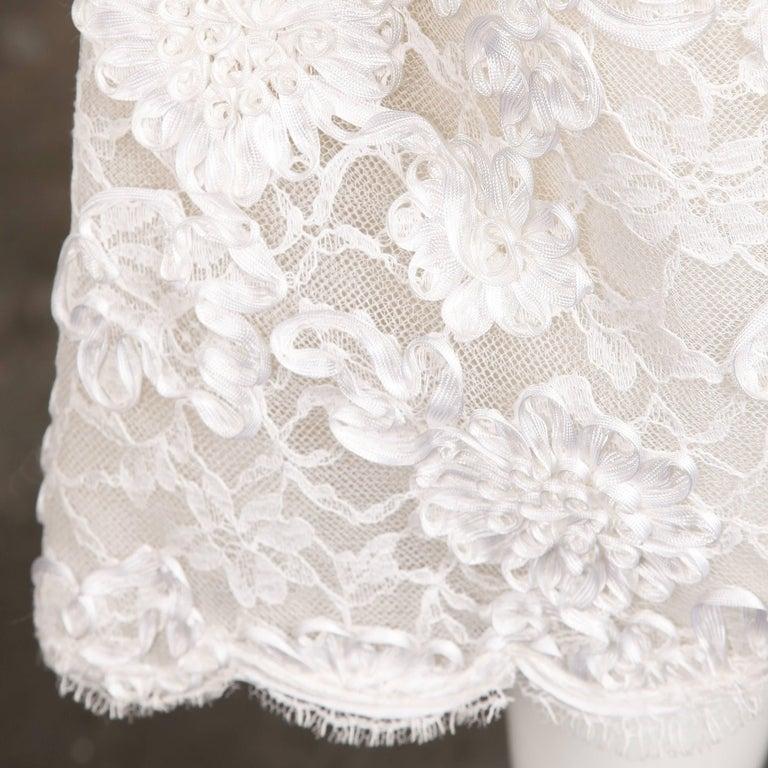 Bill Blass Vintage Lace Dress For Sale 2
