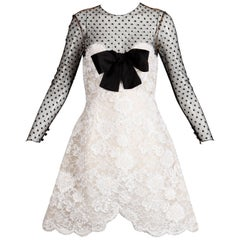 Bill Blass Vintage Lace Dress