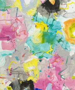 Satori II, Mixed Media on Canvas