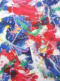 E Pluribus Unim I, Painting, Acrylic on Canvas
