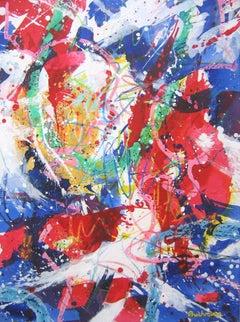 E Pluribus Unim II, Painting, Acrylic on Canvas