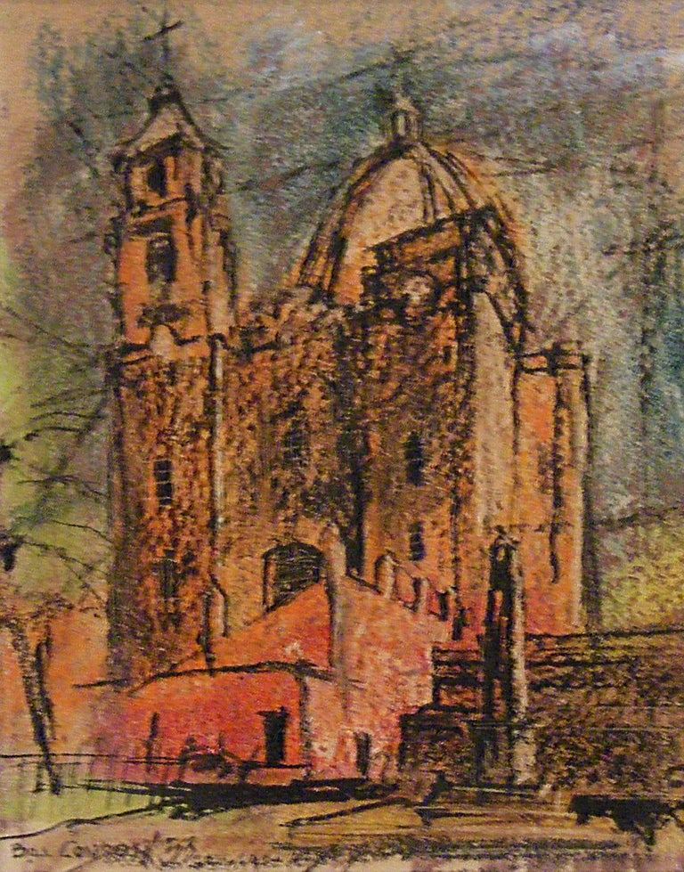 Untitled Cathedral - Mixed media - Mixed Media Art by Bill Condon