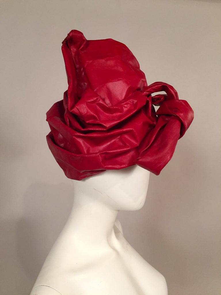 Perhaps you saw the Capsule Collection of William J. hats that I posted to 1stdibs in 2012. The whole collection of 22 hats were snapped up in an instant by the Metropolitan Museum of Art in NYC for the Costume Institute collection. William J. is