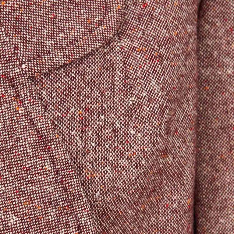 Product Details: Rare - Bill Gibb - Tweed Maxi Wrap-Around Coat Label: Bill Gibb Era: c.1970 Fabric Content: Tweed - Wool Size: UK 8 - (Fits UK 8 to UK 12) Bust: 39