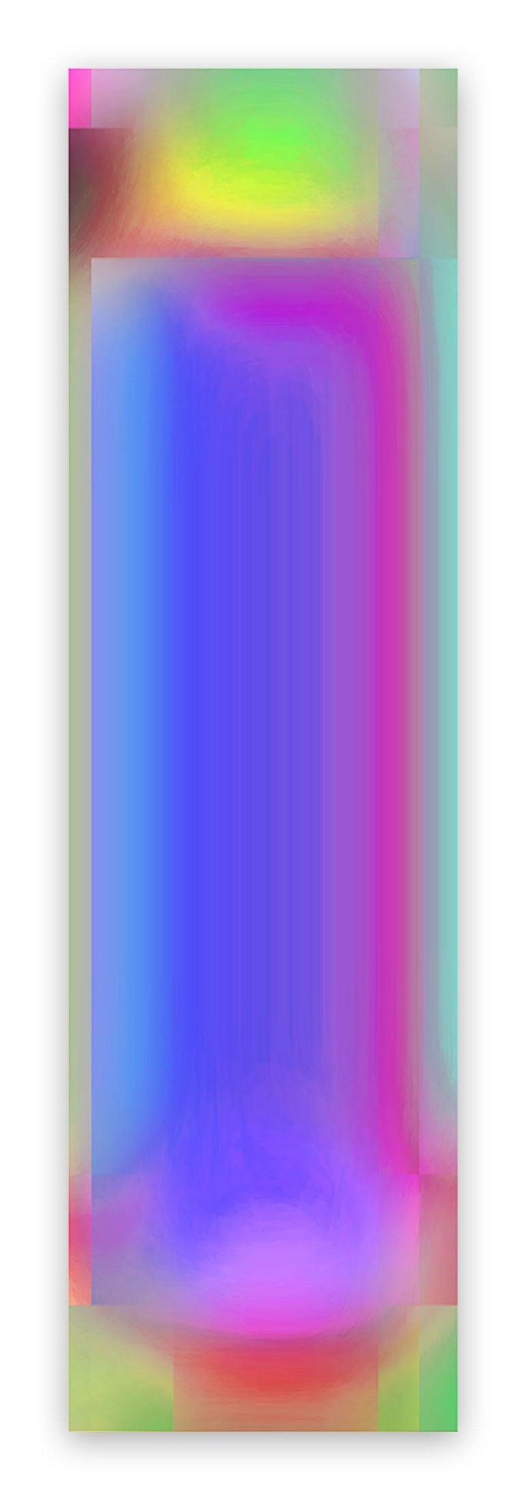 Bill Kane Abstract Photograph - EM-78 Vajra 3 (Abstract new media)
