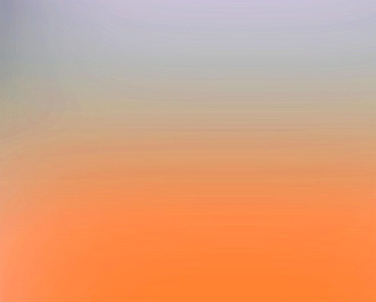 EM2020-4 ( Abstract work on paper) - Orange Abstract Photograph by Bill Kane
